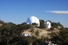 Lick Observatory. Telescopes at Lick Observatory on top of Mount Hamilton Royalty Free Stock Image