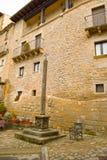 Lico do ³ de SOS del Rey Catà em Saragosse, Espanha Foto de Stock Royalty Free