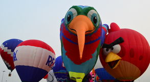 Licoln Ballon Festival - Eyes to the Skies Festival Royalty Free Stock Images
