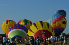 Licoln Ballon Festival Stock Image