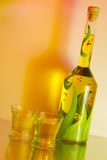 Licor artisanal Foto de Stock Royalty Free