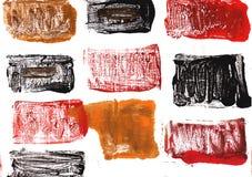 Licorice αφηρημένο υπόβαθρο watercolor ελεύθερη απεικόνιση δικαιώματος