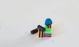 Licorice γλυκιά καραμέλα Στοκ Εικόνα