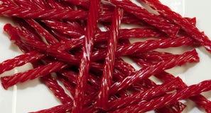licorice κόκκινο Στοκ φωτογραφία με δικαίωμα ελεύθερης χρήσης