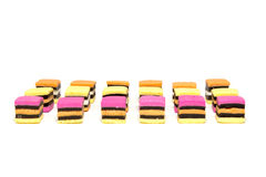 Licorice all sorts rows Stock Images