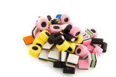 Licorice allsorts Stock Images