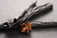 Licorice candy with star anise Royalty Free Stock Photo