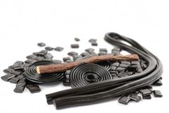Licorice collection Royalty Free Stock Photography
