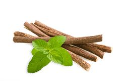 Licorice and mint Royalty Free Stock Images