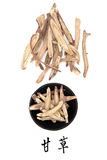 Licorice Root Royalty Free Stock Images