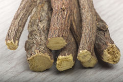 Licorice roots Royalty Free Stock Photos