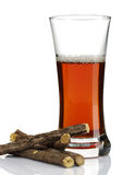 Licorice roots Tea Stock Image