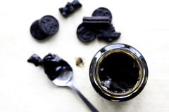 Licorice Sirup Royalty Free Stock Photography