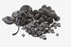 Licorice sweets Royalty Free Stock Photos