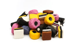 Licorice Sweets Stock Photography