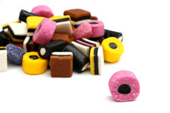Licorice Sweets Stock Photo