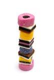 Licorice Sweets Stock Image