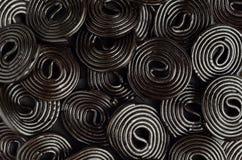 Licorice wheels Royalty Free Stock Photography