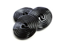 Licorice wheels Royalty Free Stock Photo