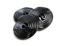 Licorice wheels Royalty Free Stock Photo