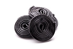Licorice Wheels Royalty Free Stock Images