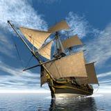 Licorne船- 3D回报 库存图片