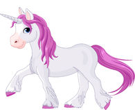 Licorne allante tranquillement Photo stock
