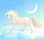 Licorne blanche Photos stock