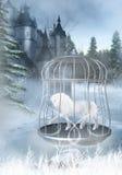 Licorne captive illustration libre de droits