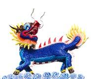 licorne Dragon-dirigée Photos libres de droits