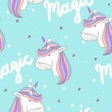 Licorne mignonne magique Image stock