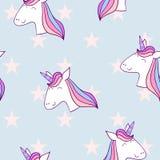 Licorne mignonne magique Photos libres de droits