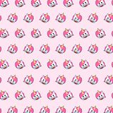 Licorne - modèle 79 d'emoji illustration stock