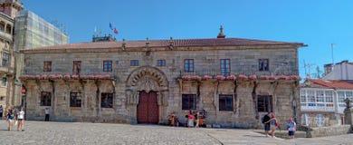 Licos del ³ di Hostal - di Santiago de Compostela de los Reyes Catà fotografia stock