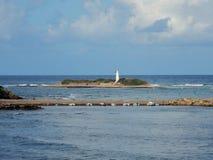 Licosa wyspa Obrazy Royalty Free