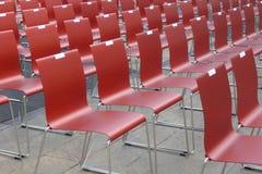 Liczący krzesła zdjęcie stock