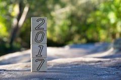 2017 liczb Obraz Stock