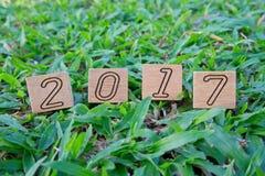 2017 liczb Zdjęcie Stock