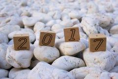 2017 liczb Zdjęcia Stock