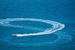 8 liczb w morzu Zdjęcie Royalty Free