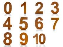 Liczba (0), 10 - Zdjęcie Stock