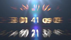 Liczba chaos Wiele szybko zmieniający się postacie Zmieniać kod ilustracji