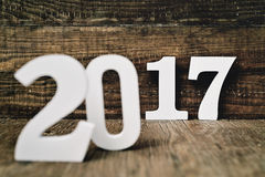 Liczba 2017 jako nowy rok, Zdjęcia Royalty Free