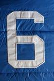 Liczba sześć zdjęcie stock
