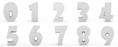 liczby Obrazy Stock