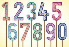 liczby Obraz Stock