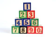 liczby Zdjęcia Stock