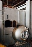 Liczby 1 bojler Zaniechanego Indiana wojska Amunicyjna zajezdnia - Indiana - Disused elektrownia - fotografia royalty free