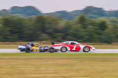 Liczby jeden samochodu wyścigowego zwycięzca Obrazy Royalty Free