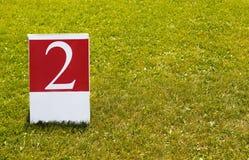 Liczby 2 pojęcia drugi fotografia (dwa) Fotografia Stock